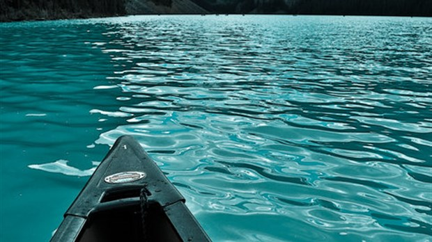 Canoe sur le Lake Louise