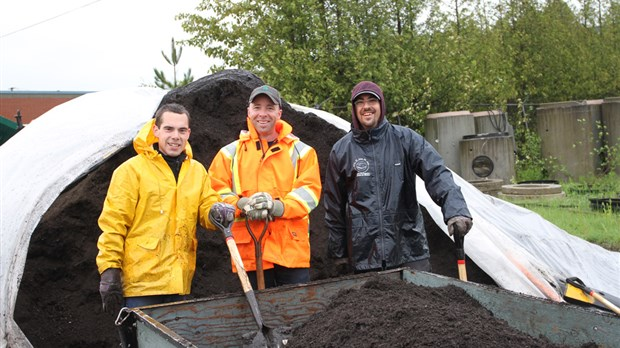 Distribution de compost à Windsor
