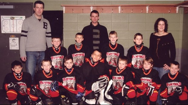 Bonne chance aux Papetiers novice B de Windsor.