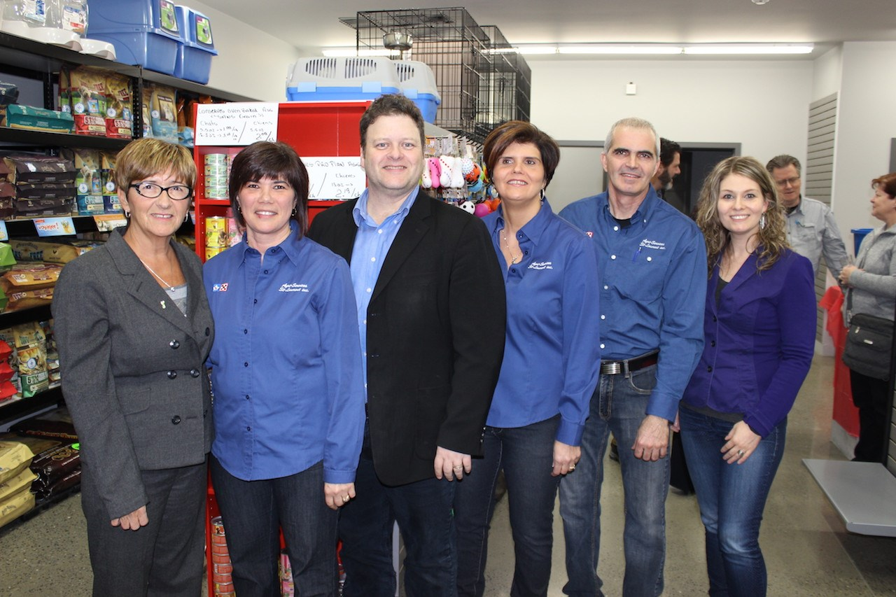 L entreprise agri services st laurent re oit la chambre de for Chambre de commerce edmundston