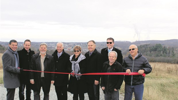 Windsor inaugure son Parc d'affaires de la 55