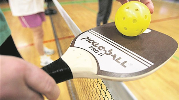 Début du pickleball  à Richmond