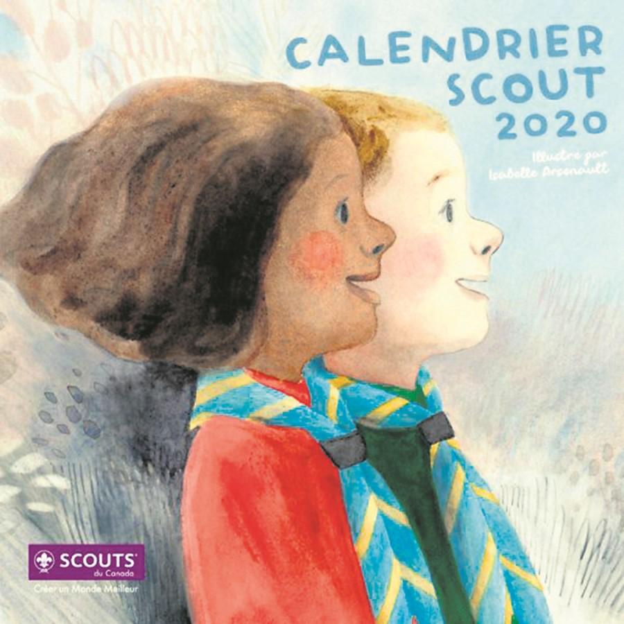 Le Calendrier 2020 des Scouts à domicile et à des points de ventes ...